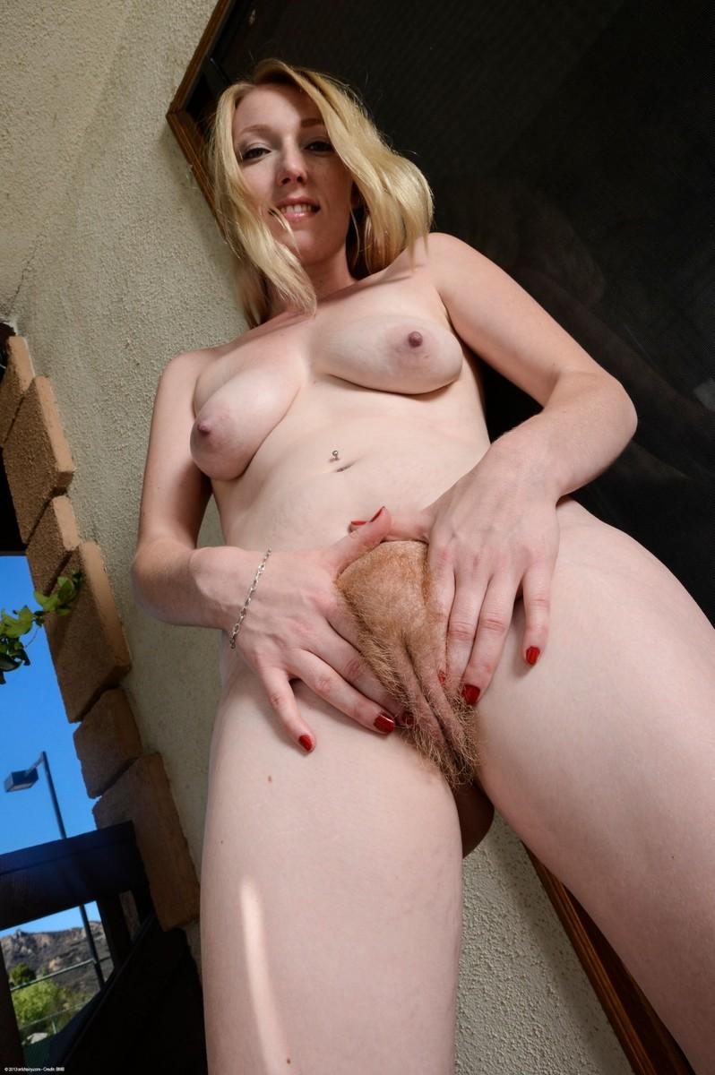 Atk hairy blonde model tegan riley
